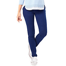 Buy Phase Eight Victoria Contour Jeans, Indigo Online at johnlewis.com