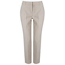 Buy Phase Eight Alice Circle Trousers, Ivory/Stone Online at johnlewis.com
