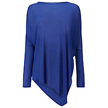Buy Phase Eight Sheer Melinda Knit Jumper, Iris Blue Online at johnlewis.com
