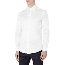Buy Reiss Redknap Slim Fit Shirt, White Online at johnlewis.com