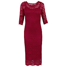 Buy Jolie Moi Two In One Lace Midi Dress Dress Online at johnlewis.com