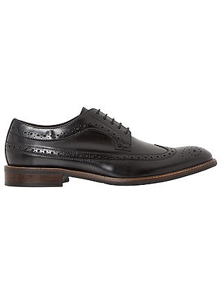 Buy Bertie Rizzo Longtip Brogues, Black, 7 Online at johnlewis.com