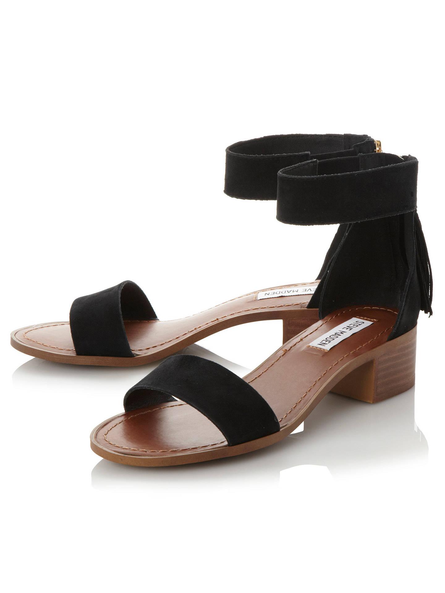eb8e25a4320 Steve Madden Darcie Block Heeled Sandals at John Lewis   Partners