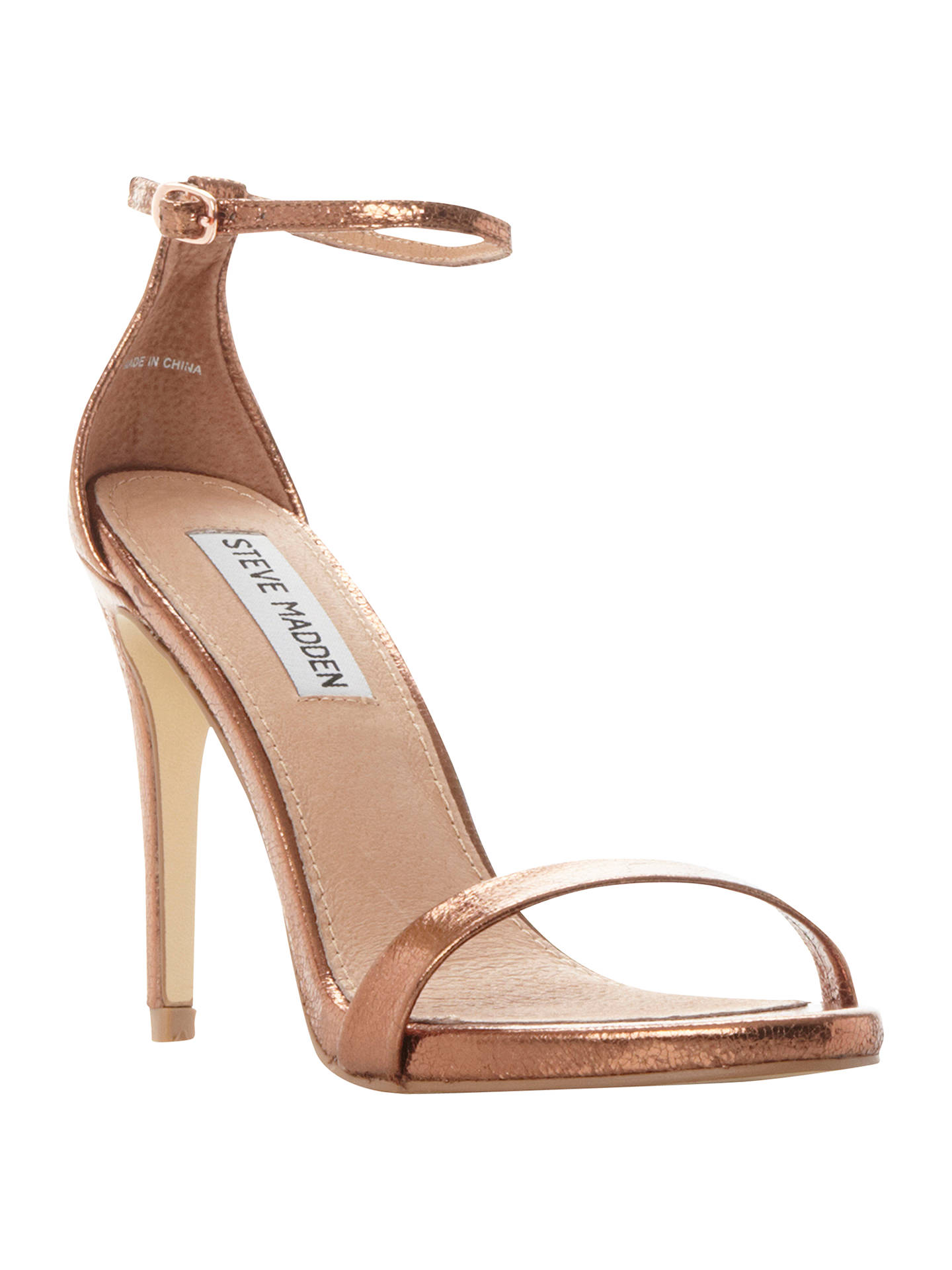 a96221beded Steve Madden Stecy Stiletto Sandals at John Lewis   Partners