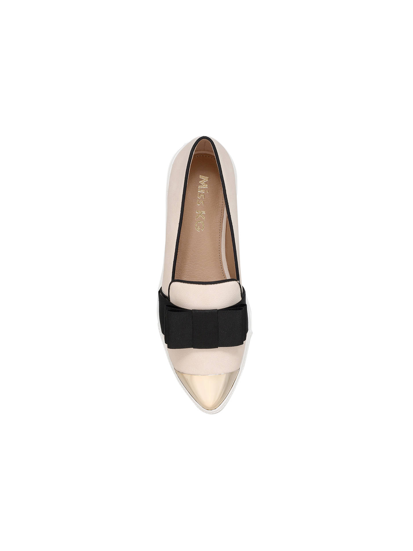 BuyMiss KG Lisa Slip On Trainers, Nude, 3 Online at johnlewis.com