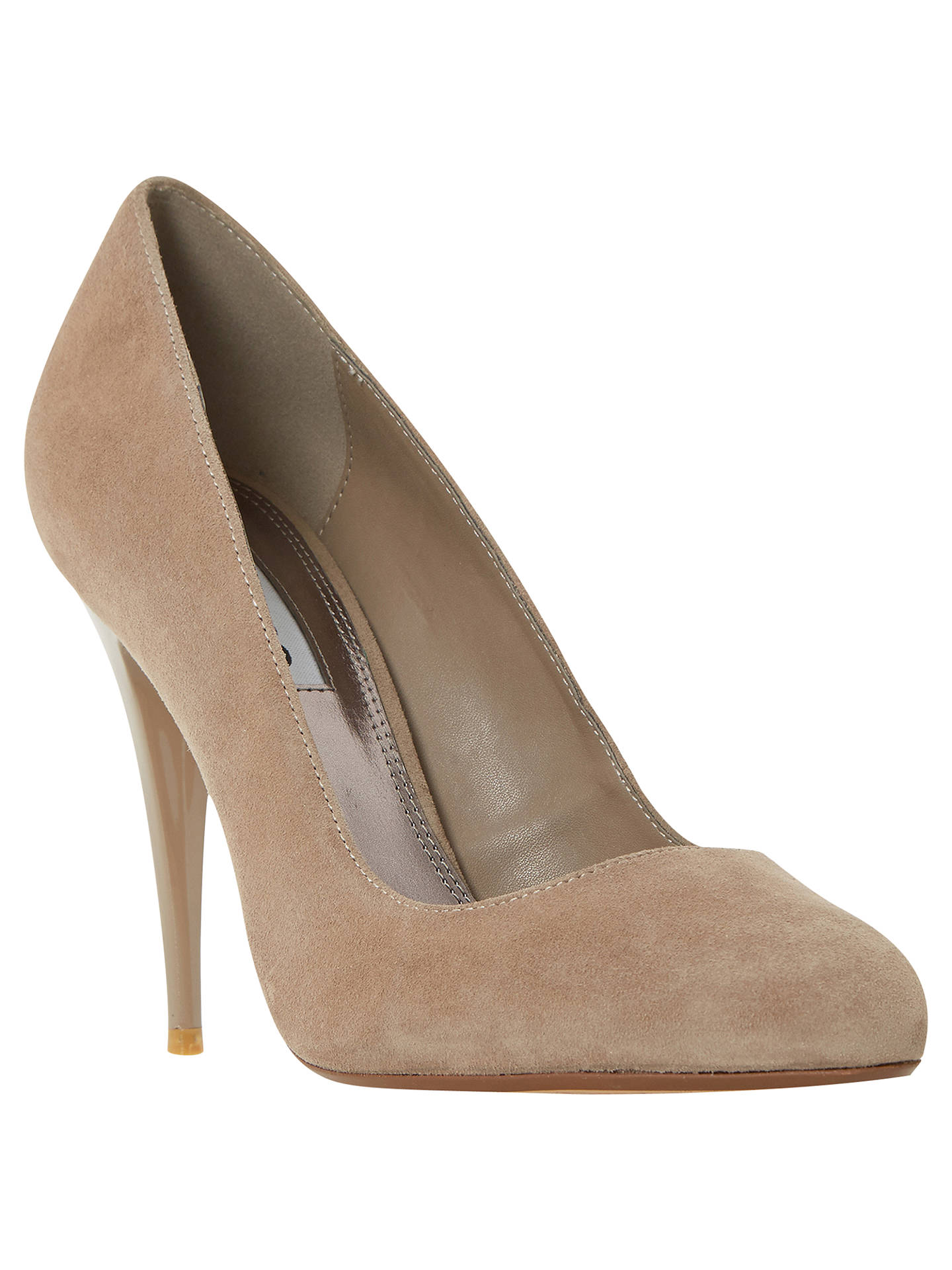 c2f508214e3 Dune Angelica High Heeled Stiletto Court Shoes at John Lewis & Partners
