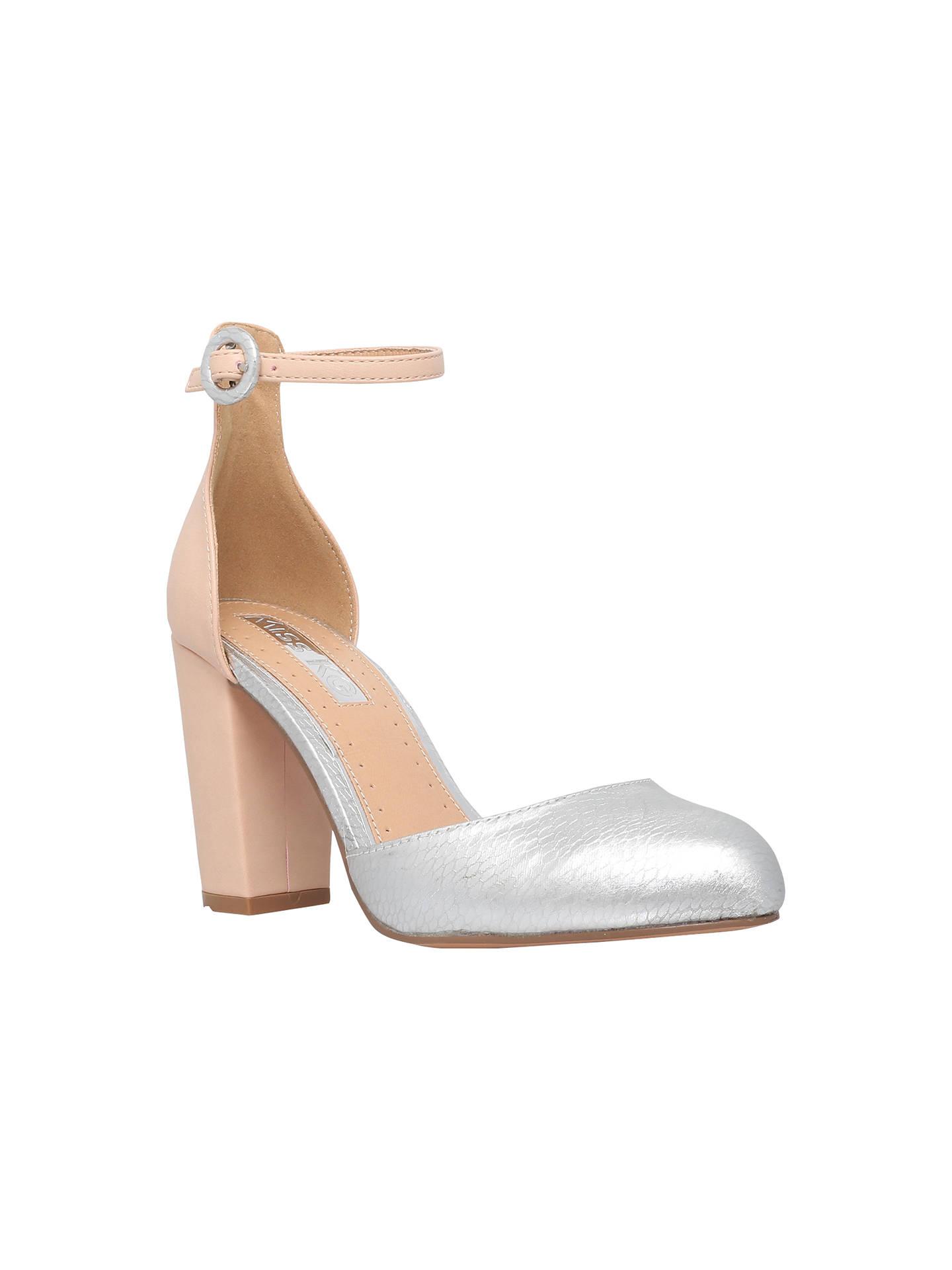 Miss KG Faun Cross Strap Block Heeled Sandals at John