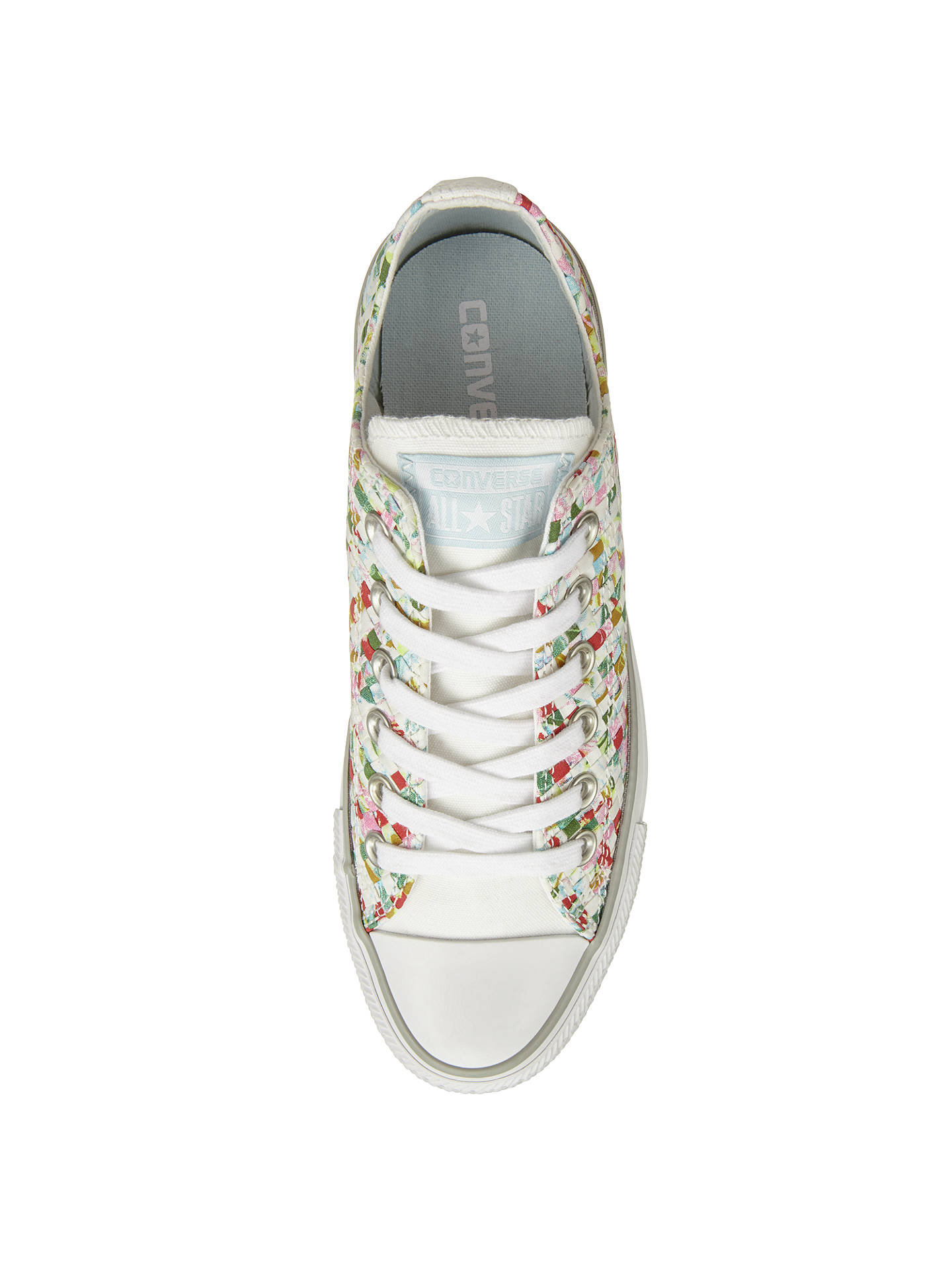 ed7358a9d36c ... Buy Converse Chuck Taylor All Star Ox Woven Print Trainers