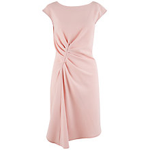 Buy Closet Side Ruffle Dress, Pale Pink Online at johnlewis.com