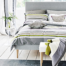 Buy Designers Guild Astraakhan Bedding, Dove Online at johnlewis.com