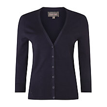 Buy Phase Eight Elin Cardigan, Navy Online at johnlewis.com