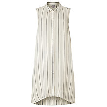 Buy Phase Eight Cora Stripe Tunic Dress, Ivory Online at johnlewis.com