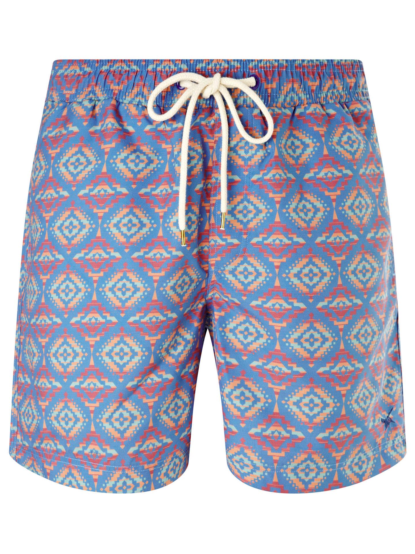 e8602e1a2 Gandys for John Lewis Aztec Print Swim Shorts at John Lewis & Partners
