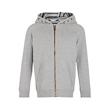 Buy John Lewis Boys' Core Hoodie, Grey Online at johnlewis.com