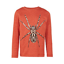 Buy John Lewis Boys' Spider Top, Red Online at johnlewis.com