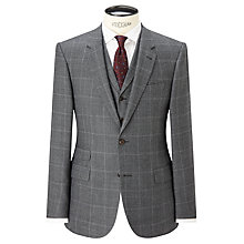 Buy JOHN LEWIS & Co. Hooper Prince of Wales Check Tailored Suit Jacket, Mid Grey Online at johnlewis.com