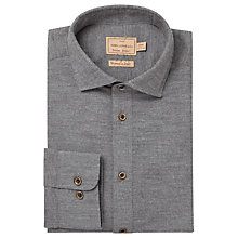 Buy JOHN LEWIS & Co. Cherwell Micro Stripe Cotton Shirt, Grey Online at johnlewis.com