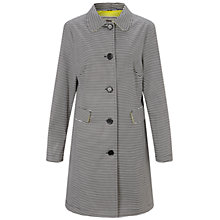 Buy Four Seasons Stripe Coat, Black/White Online at johnlewis.com