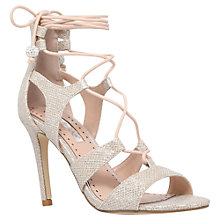 Buy Miss KG Gillian Lace Up Stiletto Sandals Online at johnlewis.com