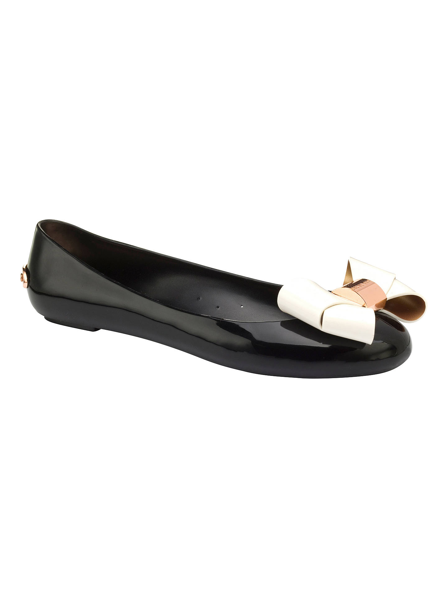 230a6651834df8 Buy Ted Baker Faiyte Large Bow Jelly Flat Pumps