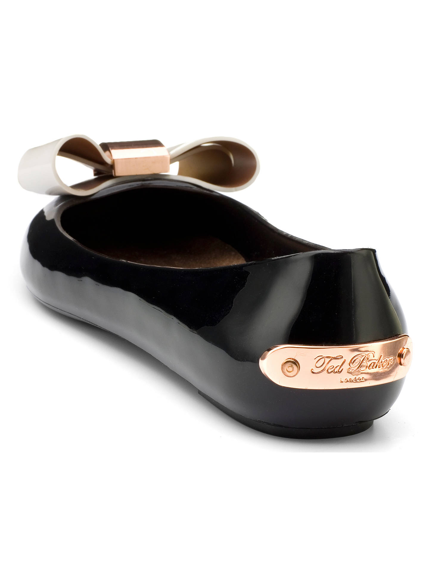 d8b6170db2f6 ... Buy Ted Baker Faiyte Large Bow Jelly Flat Pumps