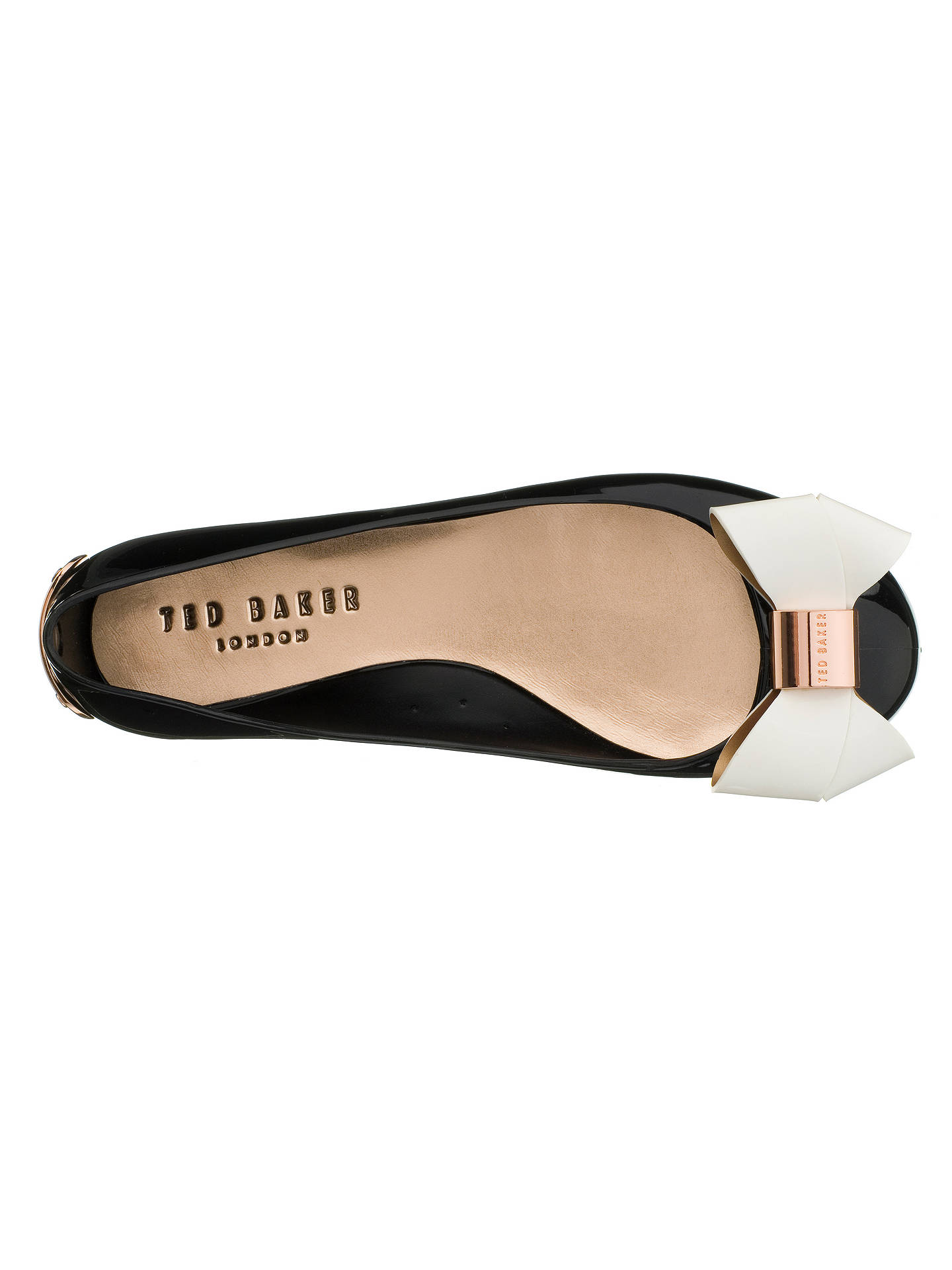 ae5b488e8a08b9 ... Buy Ted Baker Faiyte Large Bow Jelly Flat Pumps