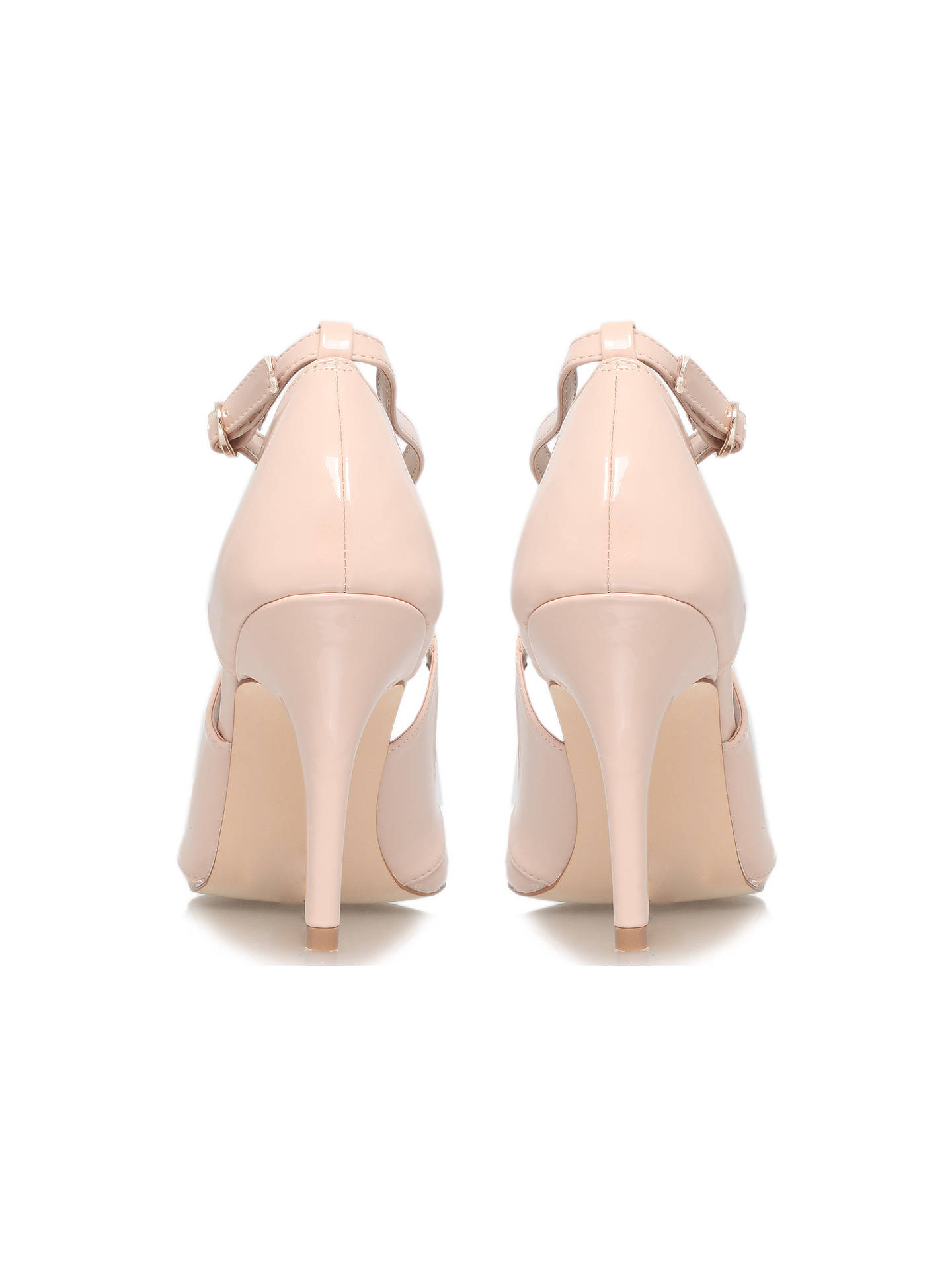 ddbda2e17a ... Buy Miss KG Natalie Stiletto Heeled Court Shoes, Nude Patent, 3 Online  at johnlewis ...