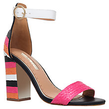 Buy Miss KG Ebony Block Heeled Sandals, Multi Online at johnlewis.com