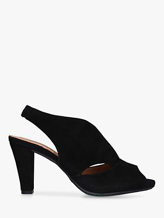 b2526c5e5459 Carvela Comfort Arabella Cone Heel Open Toe Court Shoes