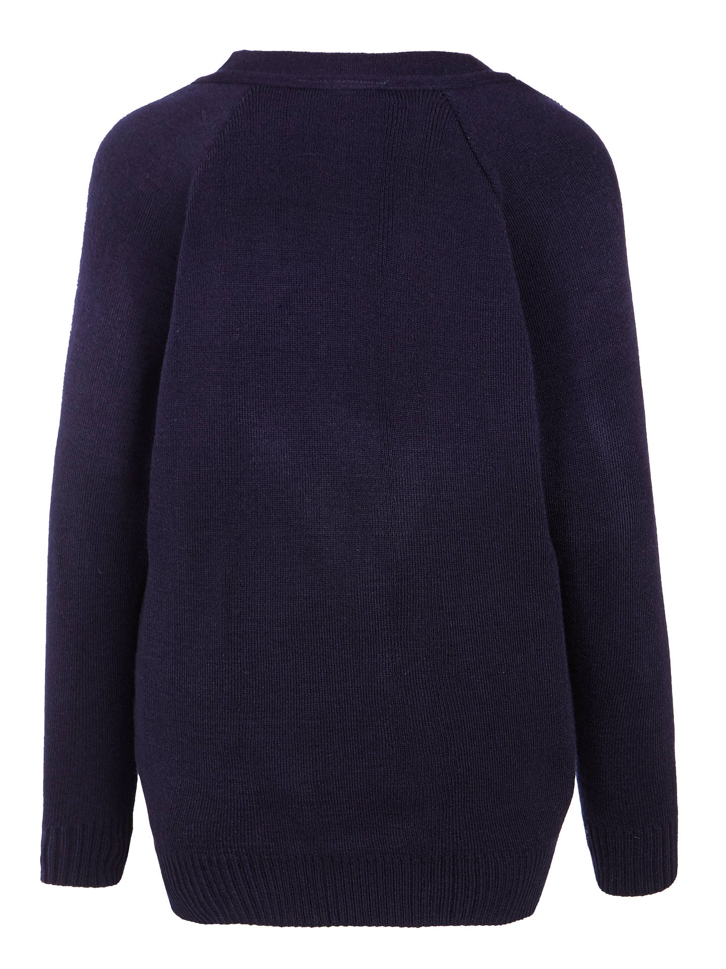 "BuyOakgrove School Cardigan, Navy, Chest 24"" Online at johnlewis.com"