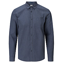 Buy Kin by John Lewis Micro Check Slim Fit Shirt, Grey Online at johnlewis.com