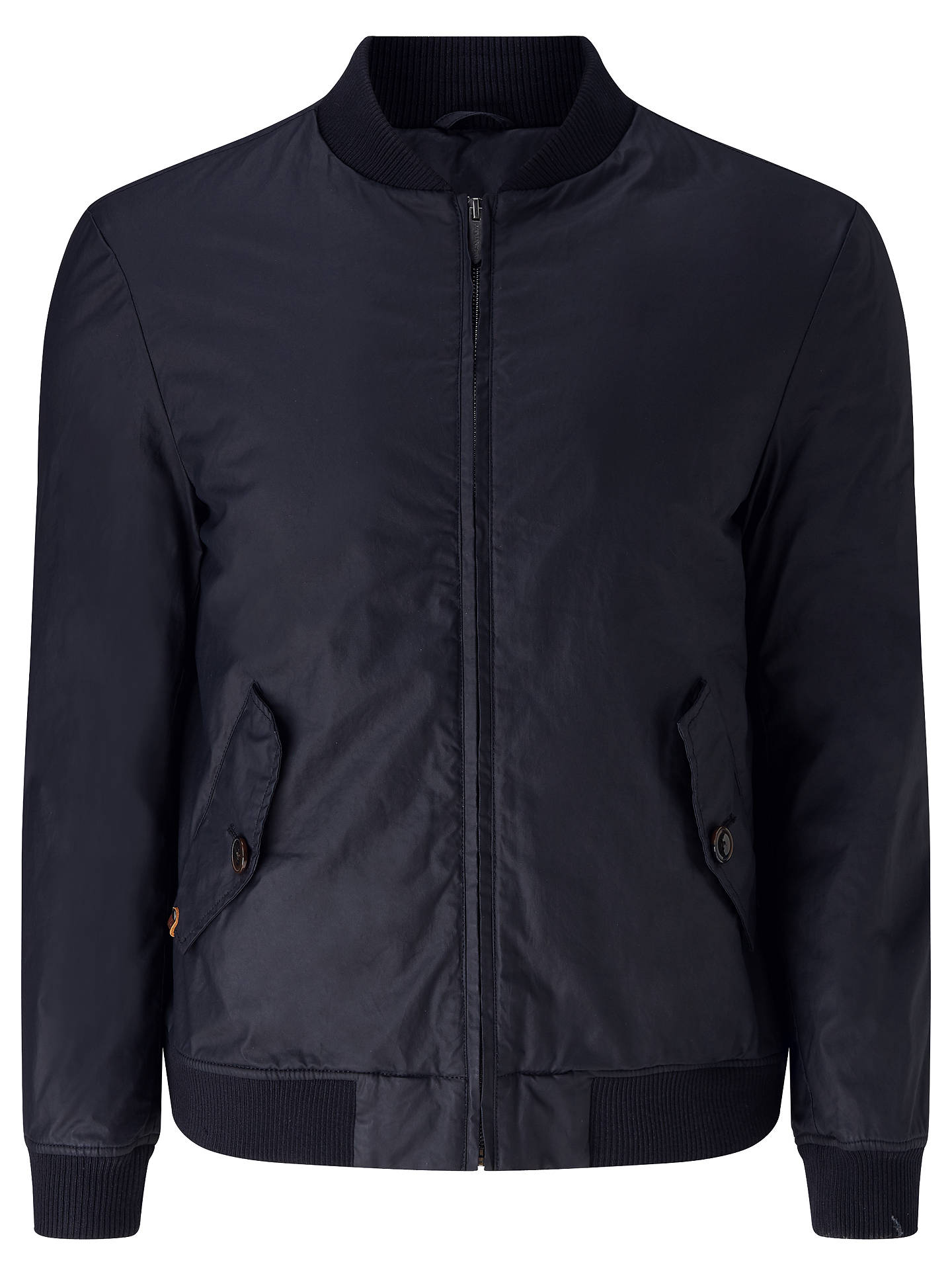 e7369d8bd JOHN LEWIS & Co. Waxed Cotton Bomber Jacket at John Lewis & Partners