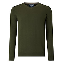 Buy John Lewis Cotton Cashmere V-Neck Jumper Online at johnlewis.com