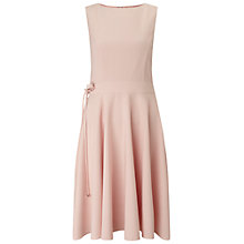 Buy Miss Selfridge Skater Midi Dress, Nude Online at johnlewis.com