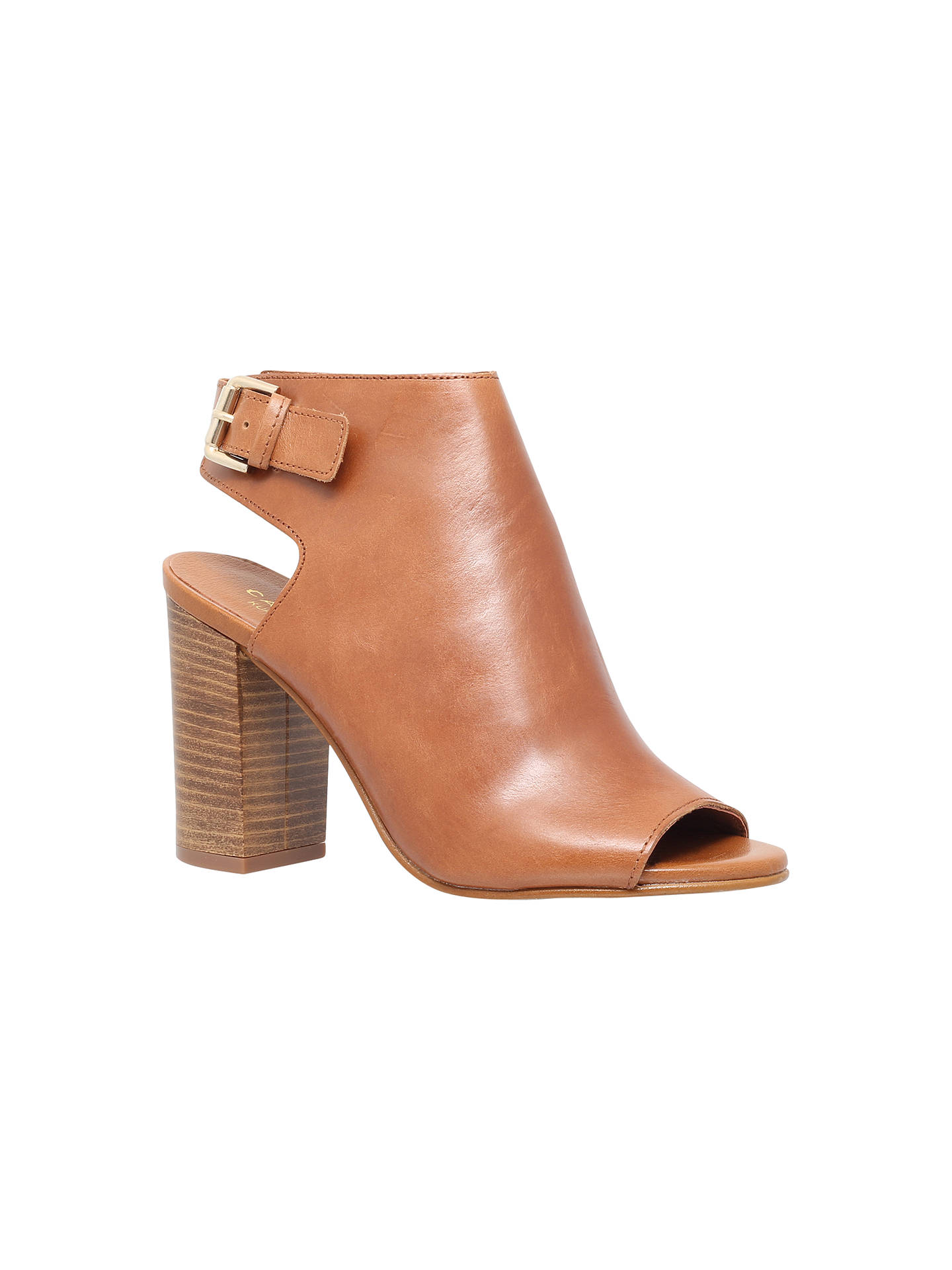 c89a4f08fc8 Carvela Assent Block Heeled Peep Toe Sandals at John Lewis   Partners