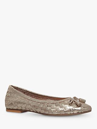 Carvela Luggage Woven Ballerina Pumps