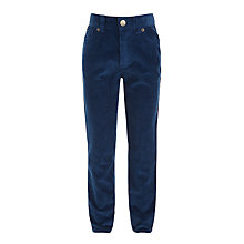 Buy John Lewis Boys' Cord Trousers, Teal Online at johnlewis.com
