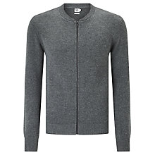 Buy Kin by John Lewis Wool Blend Bomber Jacket, Charcoal Online at johnlewis.com