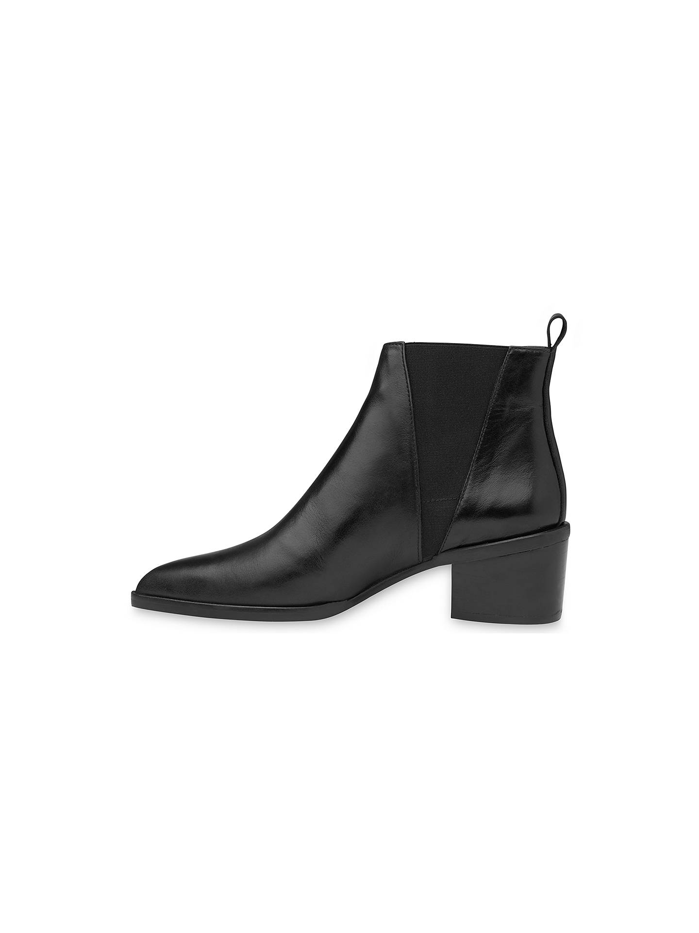 e513bf663fd Whistles Belmont Pointed Toe Block Heeled Ankle Boots at John Lewis ...