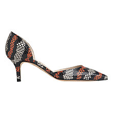 Buy L.K. Bennett Florine Two Part Court Shoes Online at johnlewis.com