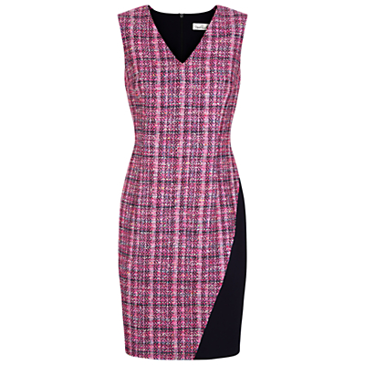 Product photo of Damsel in a dress happy tweed dress pink multi