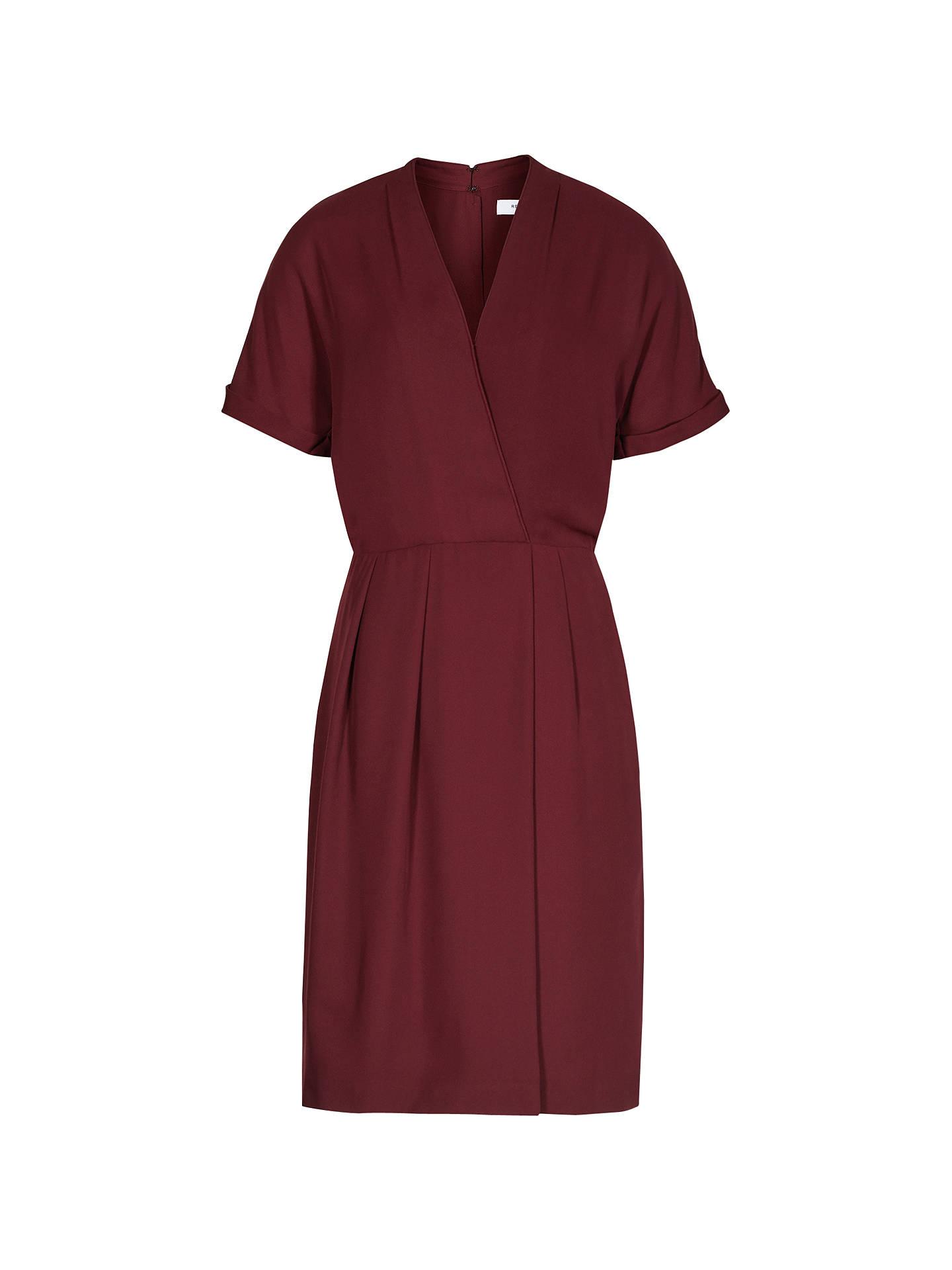 Reiss Camden Wrap Dress, Juniper at John Lewis & Partners