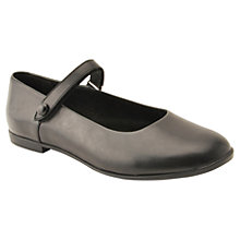 Buy Start-rite Children's Florence Leather Shoes, Black Online at johnlewis.com