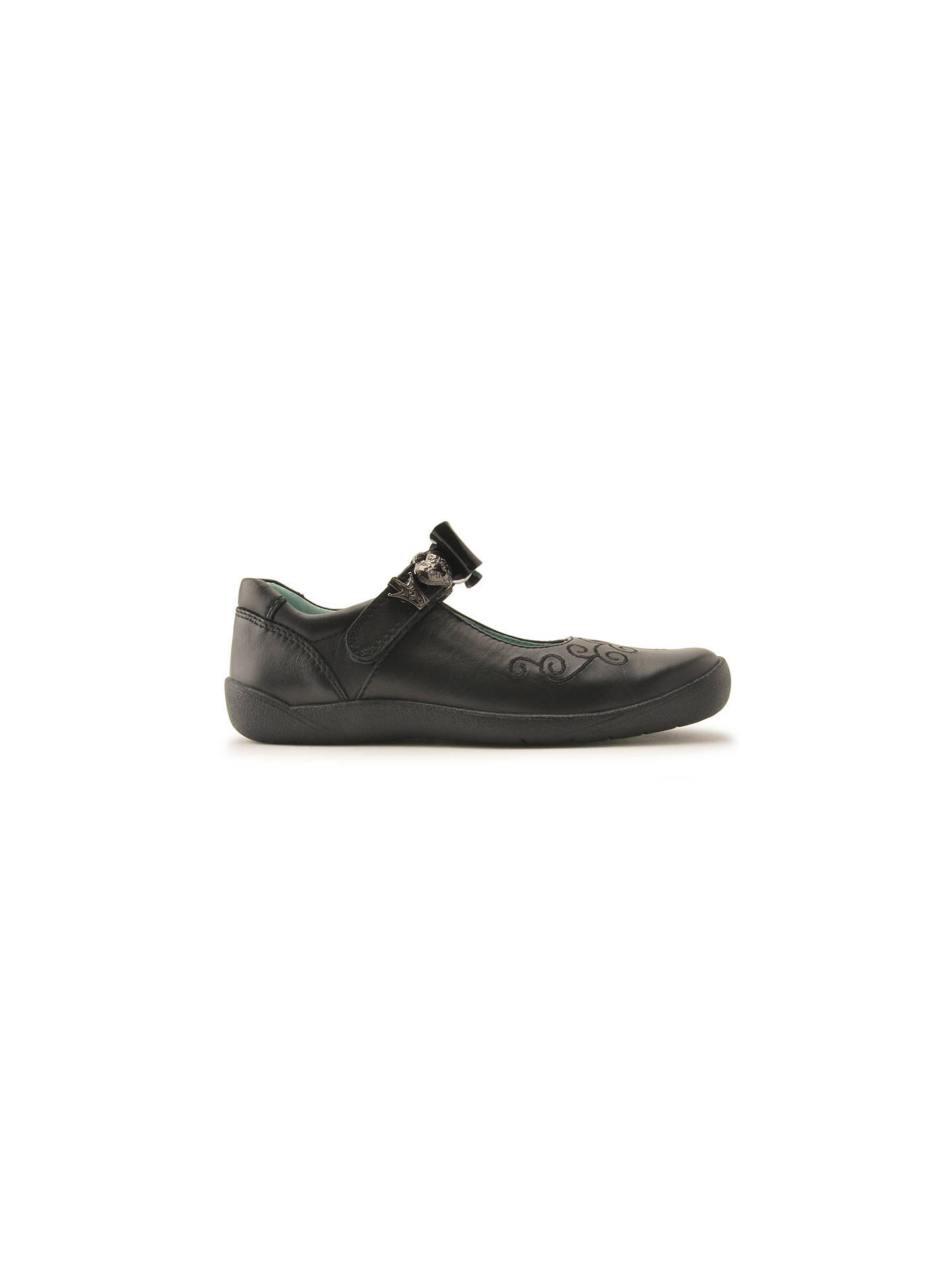 5b04a5178ef9f Start-rite Children's Elza Mary Jane School Shoes, Black at John ...