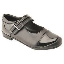 Buy Start-rite Children's Hermione School Shoes, Black Online at johnlewis.com