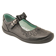 Buy Start-rite Elza Mary Jane School Shoes, Black Online at johnlewis.com
