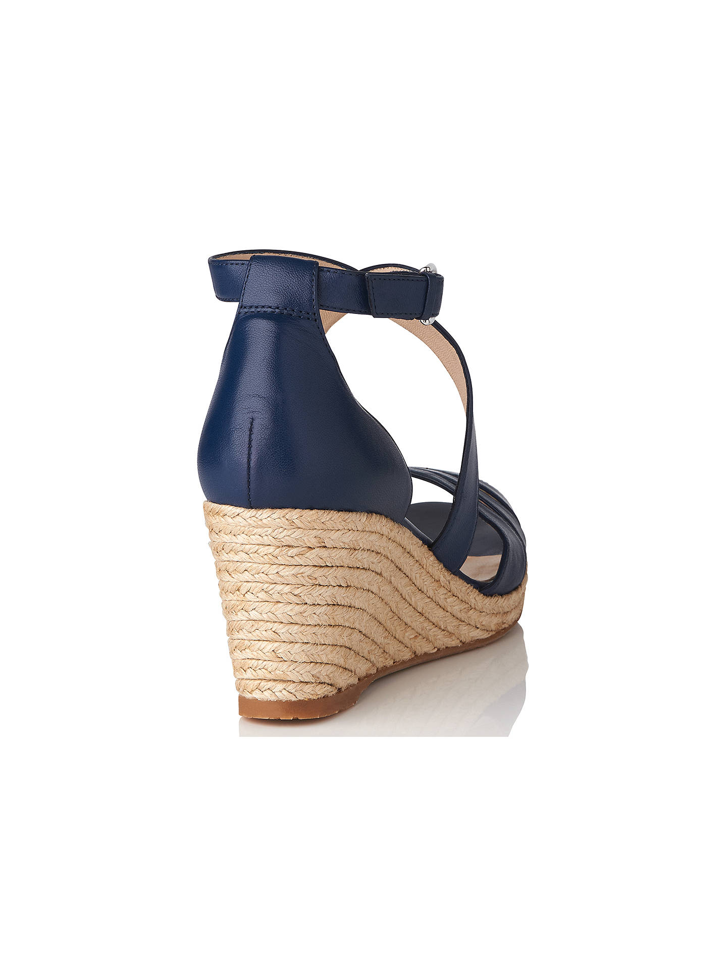 09f96836dd4 L.K. Bennett Priya Wedge Heeled Sandals at John Lewis   Partners