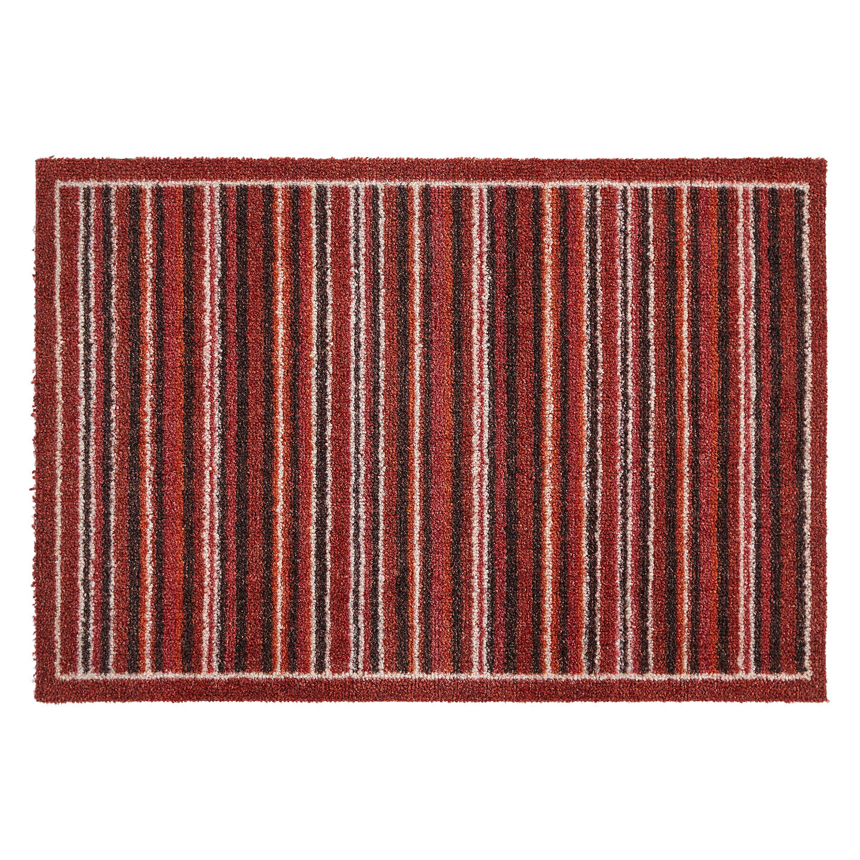 Perfect BuyJohn Lewis Washable Multi Stripe Doormat, Red, L50 X W75cm Online At  Johnlewis.