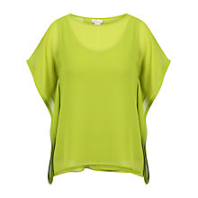 Buy Celuu Mia Square Kimono Blouse, Lime Online at johnlewis.com