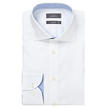 Buy John Lewis Royal Oxford Tailored Fit Shirt, White Online at johnlewis.com